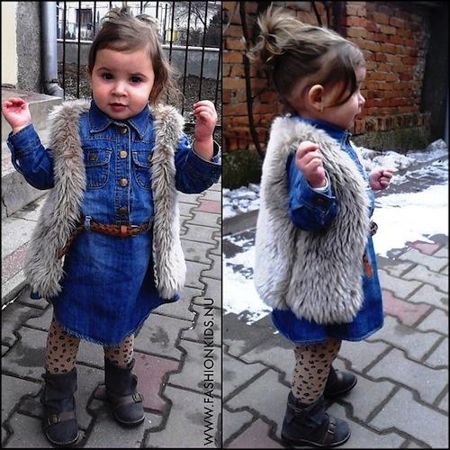 فستانا بنتي فرفوشة حتى بالشتاء