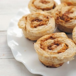 no yeast, whole wheat apple cinnamon buns - it's what's for breakfast