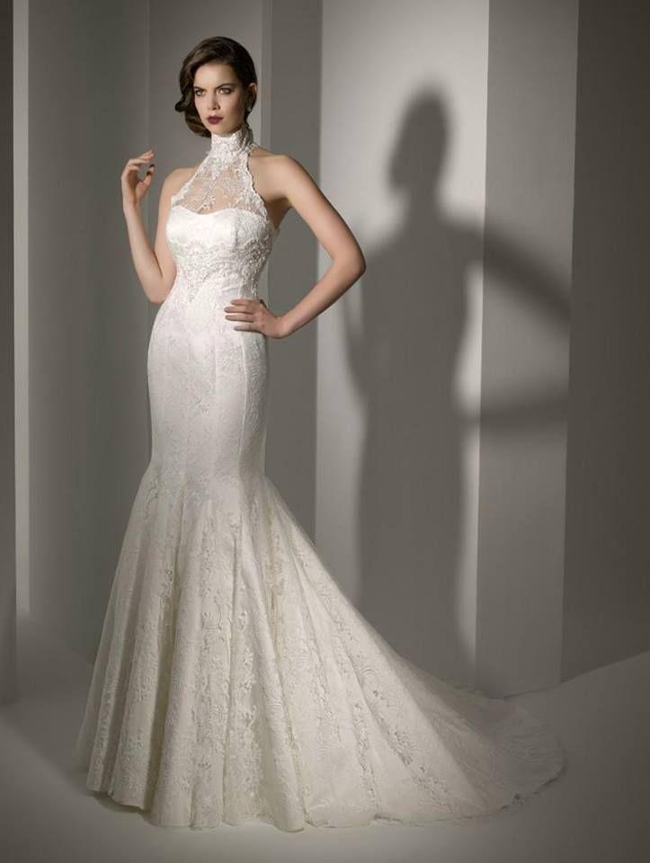 Abito da sposa a sirena  abiti eleganti  Pinterest