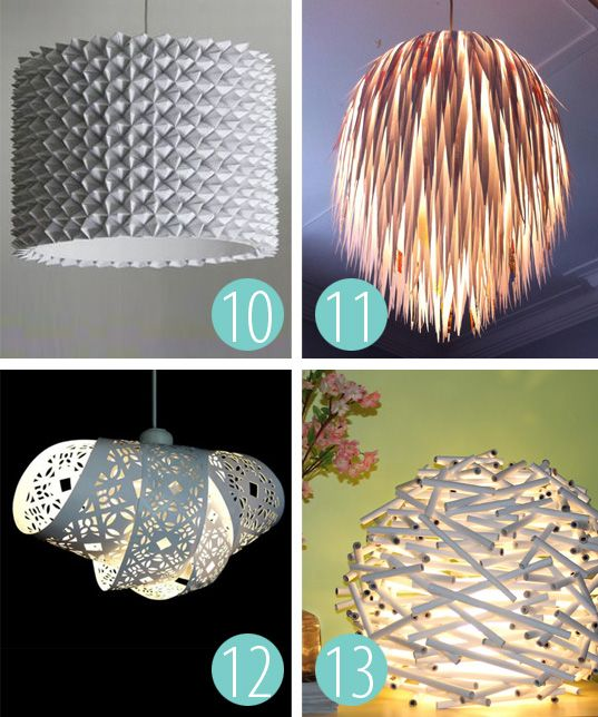 Diy elegant light shade diy lighting lamp pinterest for Lamp making ideas