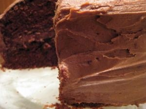 Chocolate Layer Cake with Mocha Milk Chocolate Frosting adapted from ...