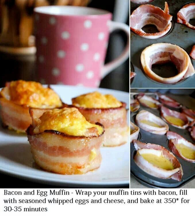 Bacon and Egg Muffin | Make It Primal | Pinterest
