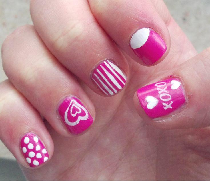 valentine's day nail strips