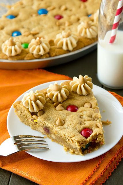 The Ultimate Peanut Butter Cookie Cake. | cookies and bars | Pinterest