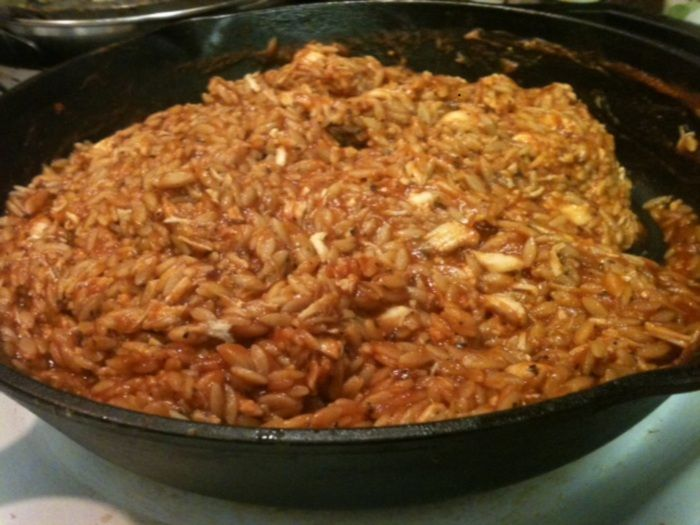 Greek Chicken and Orzo on MyRecipeMagic.com