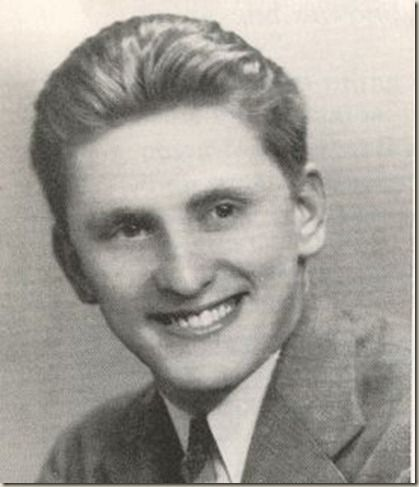 Kirk douglas high school where s that dimple in the chin