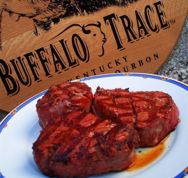 Bourbon-Marinated Steaks | Recipe