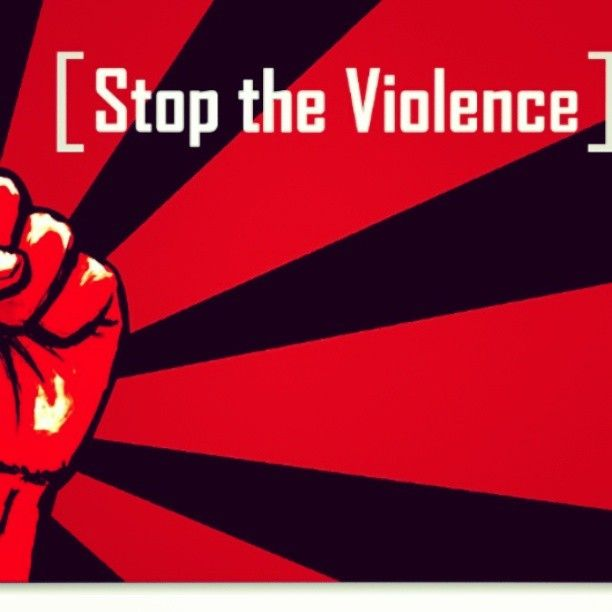 stop the #violence #po...