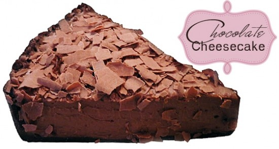 Light Deep Dark Chocolate Cheesecake Recipe