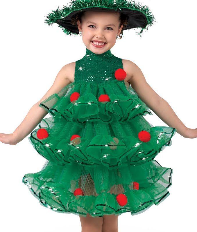 Новогодние костюм для девочки сшить своими руками 206