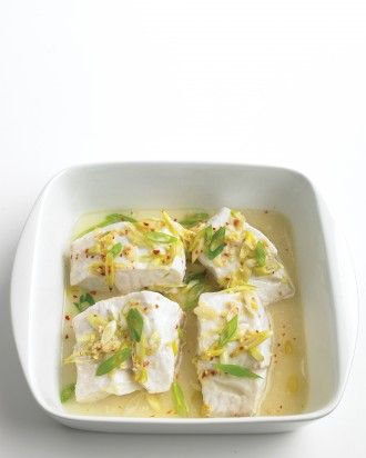 "See the ""Steamed Cod with Ginger"" in our gallery"