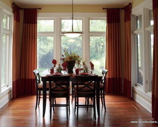 Corner curtain rods room ideas pinterest