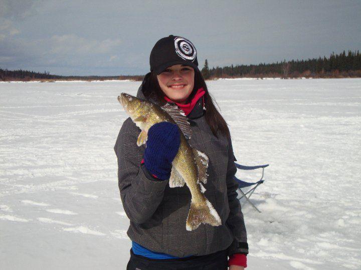 Ice fishing girls - photo#10
