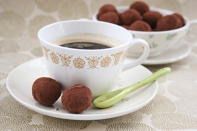 Balsamic Chocolate Truffles | Yummy Desserts & Sweets | Pinterest