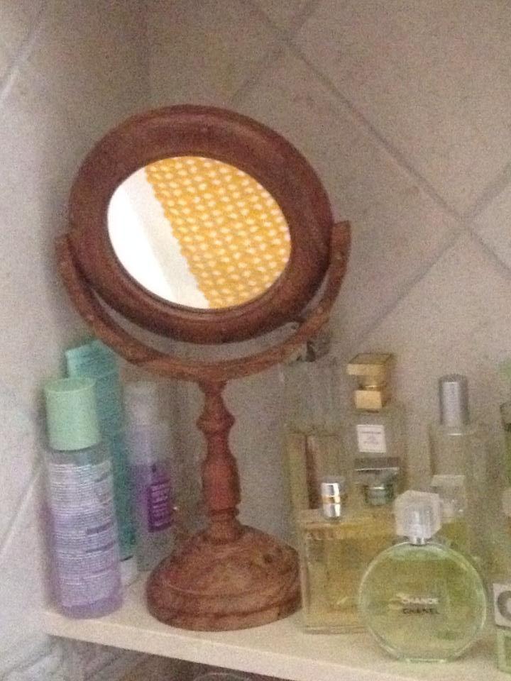Espejo antes de la restauración