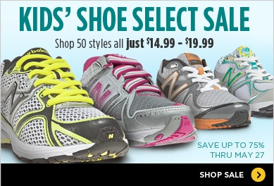 New Balance Kids Shoes Sale: As Low as 14.99