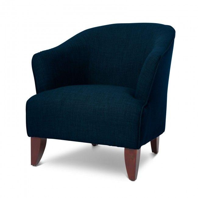 Best Salford Dark Blue Accent Chair Armchairs Pinterest 640 x 480