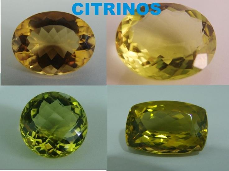 Citrinos (amarelo limão)