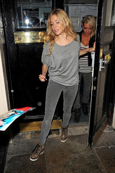 Sienna Miller goes grey.