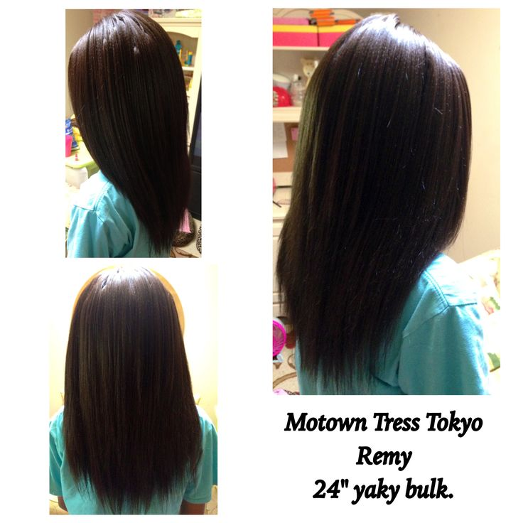 Crochet Straight Hair Video : ... Tress Tokyo Remy straight hair crochet braids. This hair is 100
