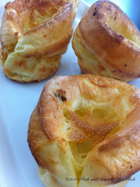 ... Yorkshire Pudding. Why for years did I think this was actually pudding