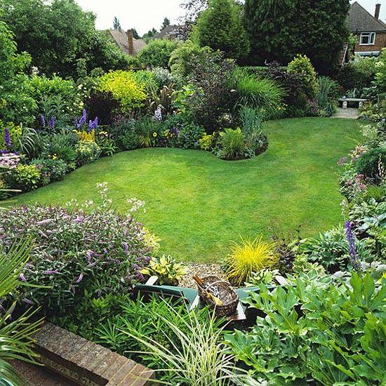 Nice Lush Borders Garden Pinterest