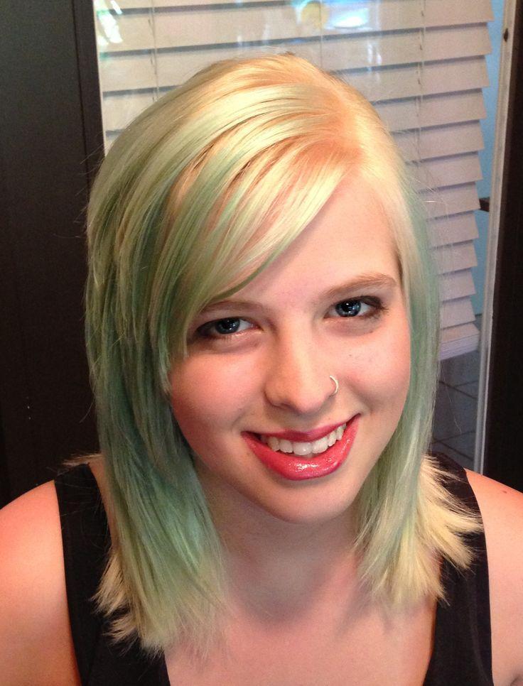 pin hair layers side swept bangs fringe scene emo tutorial