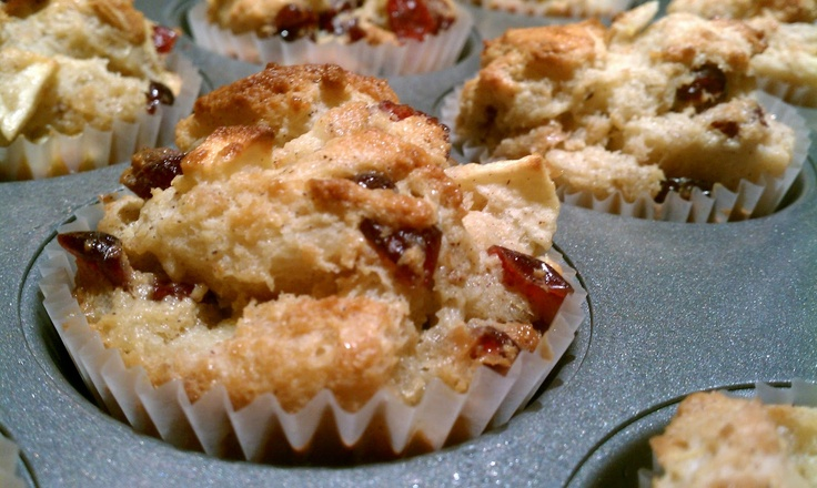Gotta make these! Life's Simple Measures: Bread Pudding Muffins