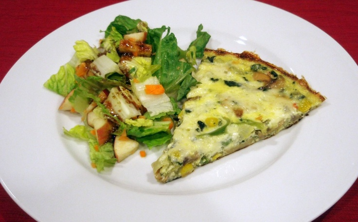 frittata! | Planted too many zucchini plants | Pinterest