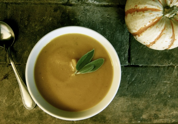 Butternut Squash and Sage Soup   Recipes to Try   Pinterest