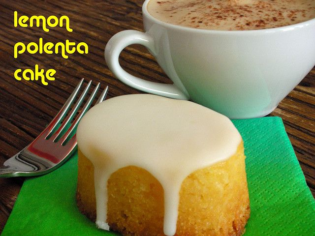 Lemon Polenta Cake | wham wham's and zoo zoo's | Pinterest