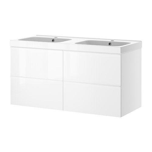 Ikea Kitchen Island Installation ~ GODMORGON ODENSVIK Width 55 1 2   sink cabinet width 55 1 8   De
