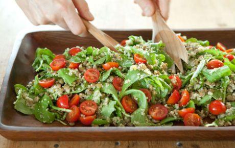 Lentil and Couscous Salad --- WholeFoods recipe