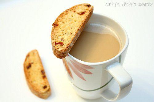 cathy's kitchen journey: Cranberry Almond Biscotti