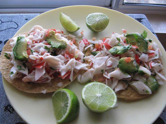 Crab Tostadas Recipes — Dishmaps