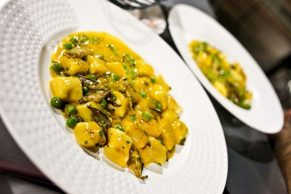 Gnocchi with Shitakes and Peas | Food awesome Food | Pinterest