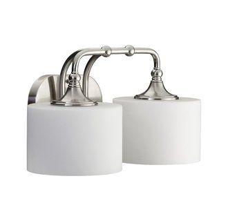vanity lights over each mirror  bathroom  Pinterest