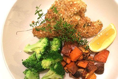 Gluten Free Quinoa Chicken Schnitzels | °Healthy Dinners ...