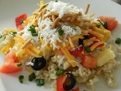 Hawaiian Haystacks - make your own sauce instead of yucky canned soup ...