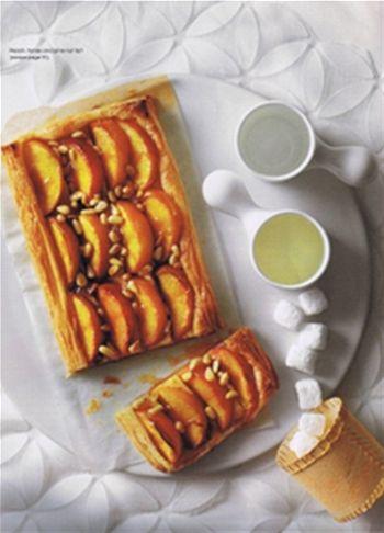 Peach, honey and pine-nut tarts | Puff Dough - My Favorite! | Pintere ...