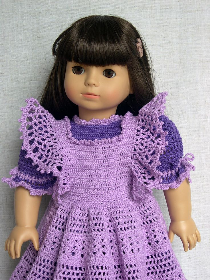 18 inch Doll Clothes Crochet doll outfit fits American Girl (AG) and