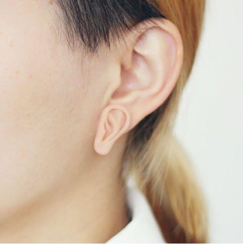 Little Ear Earring; soooo weird!