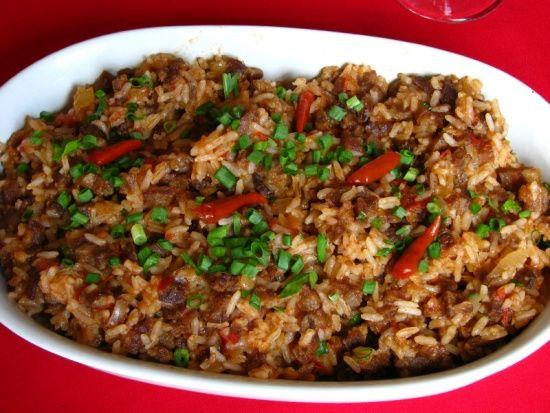 Arroz Carreteiro  (Mineiro Rice)