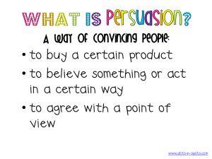 Persuasion Chart