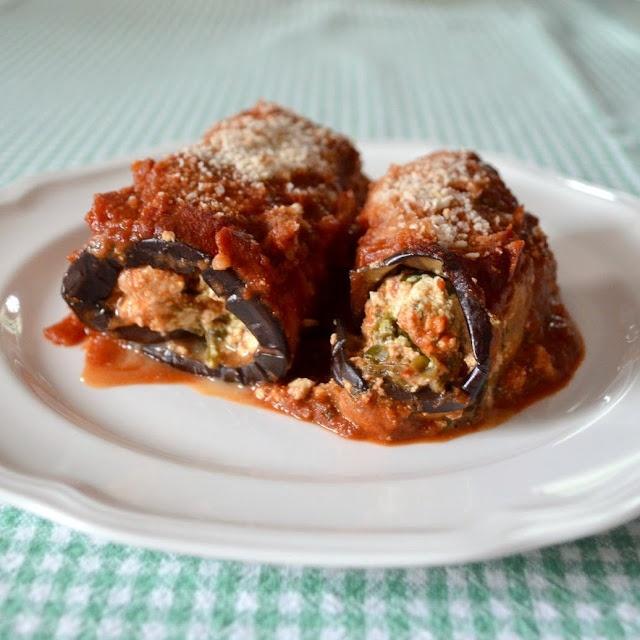 Eggplant Rollatini | VEGAN (MAIN DISH/ PASTA,ETC,) | Pinterest