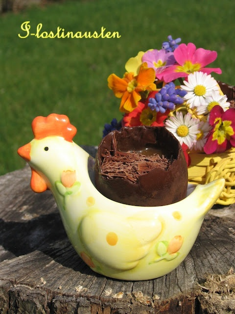 Chocolate & Salted Caramel Easter Egg | DECO | Pinterest