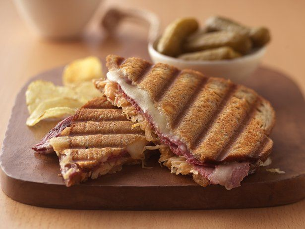 Classic Reuben Panini Make without corned beef for a delicious ...