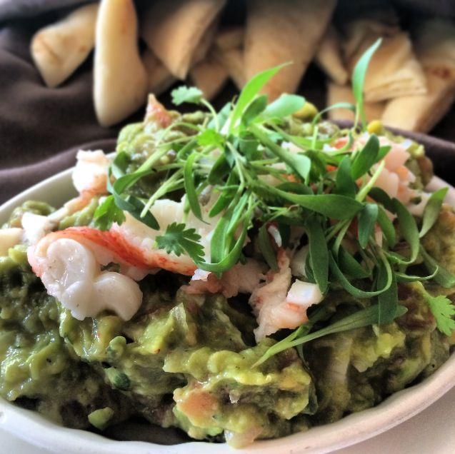 Lobster Guacamole | Food & Drink | Pinterest