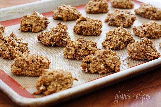 pumpkin oatmeal cookies...really good!!