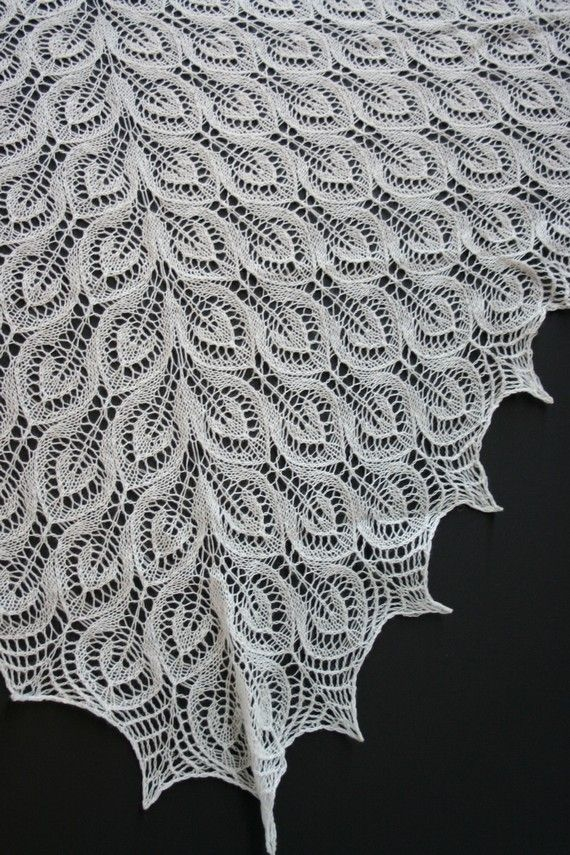 Pin by Ouida McIlhinney on Amazing Lace Shawl Knitting ...